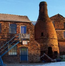 Stoke-on-trent, Bottle Kiln, Staffordshire © David Rayner